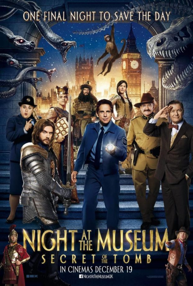 Night at the Museum: Secret of the Tomb - Una noche en el museo 3 - El secreto de la tumba