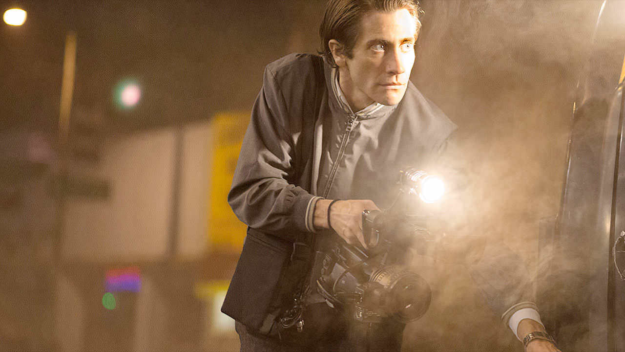 Jake Gyllenhaal y Rene Russo en 'Nightcrawler'