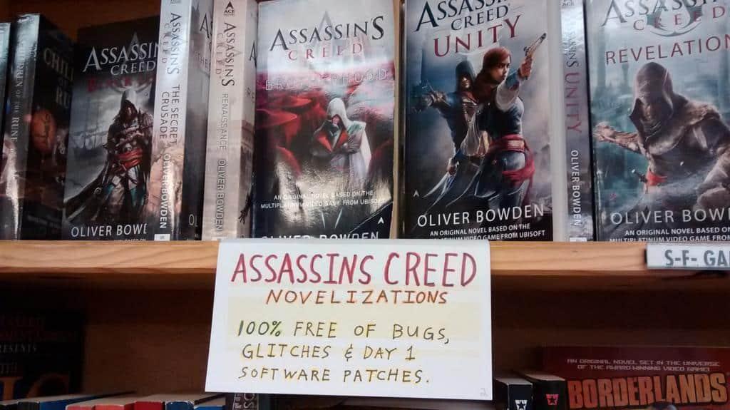 Tomando con humor la voracidad de Ubisoft que publica un juego de esta serie cada tercer día.