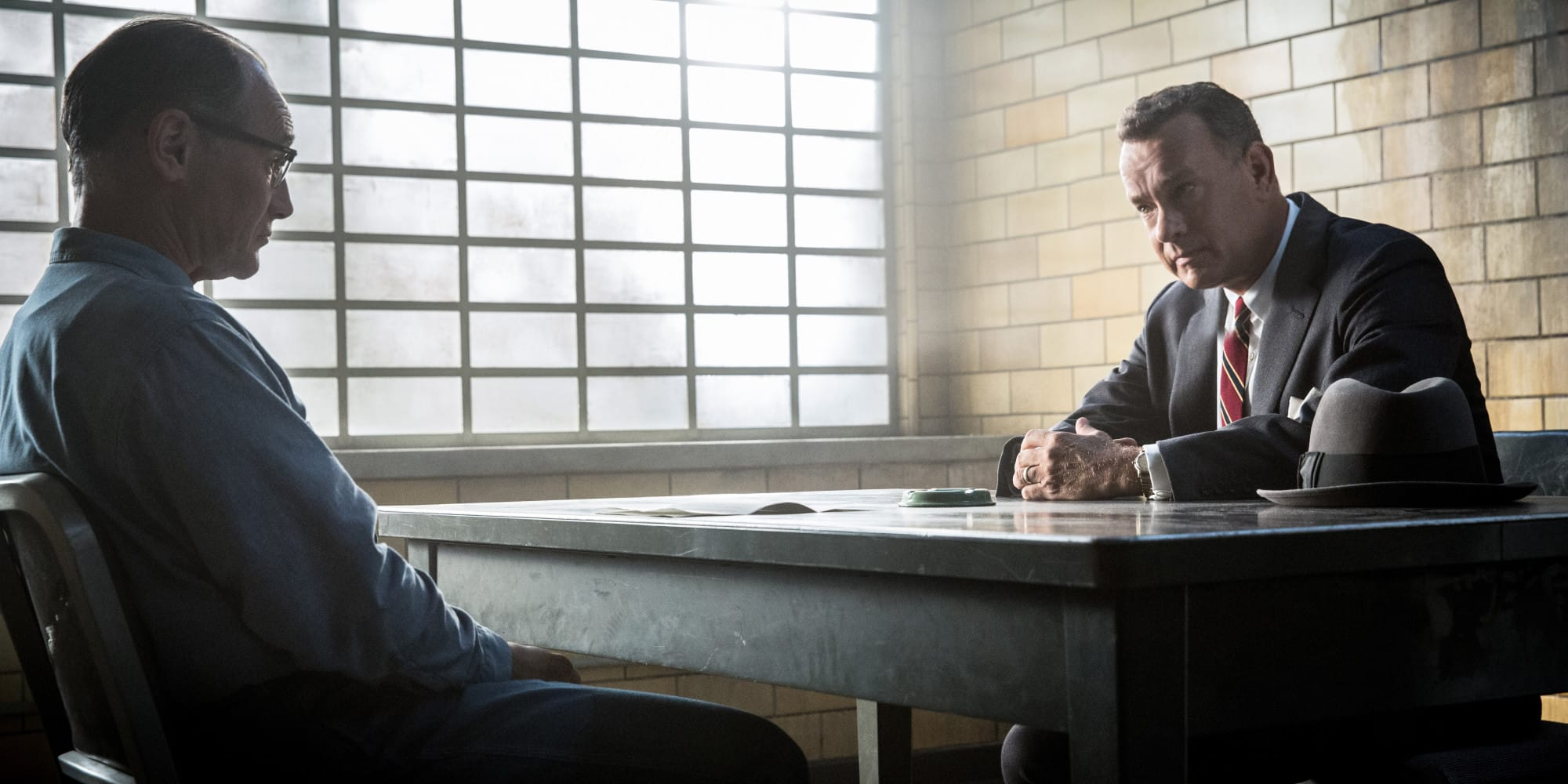 Mark Rylance y Tom Hanks en Puente de Espías