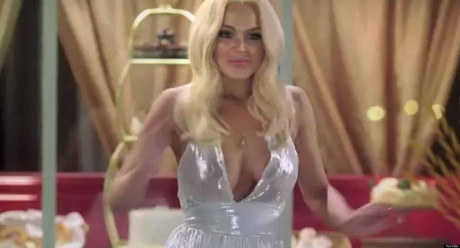 Lindsay Lohan en 'InAPPropriate Comedy'