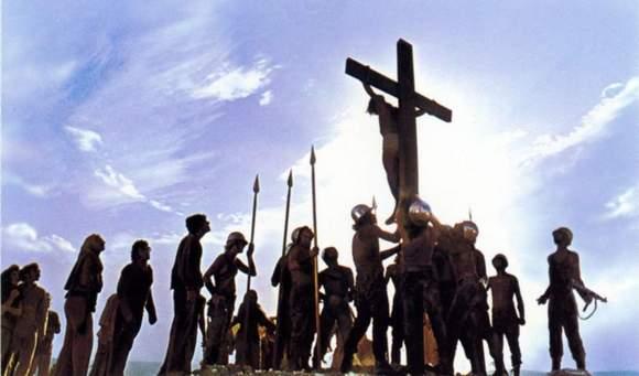 Escena de Jesucristo Superestrella
