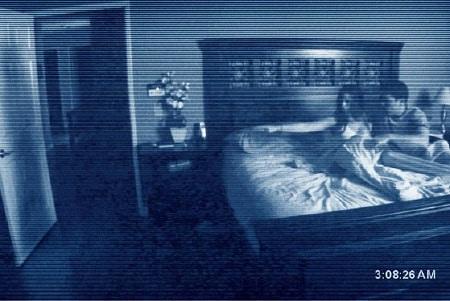 Escena de Paranormal Activity