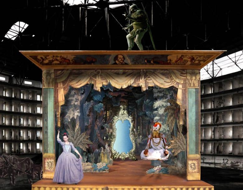 Escena de The Imaginarium of Doctor Parnassus