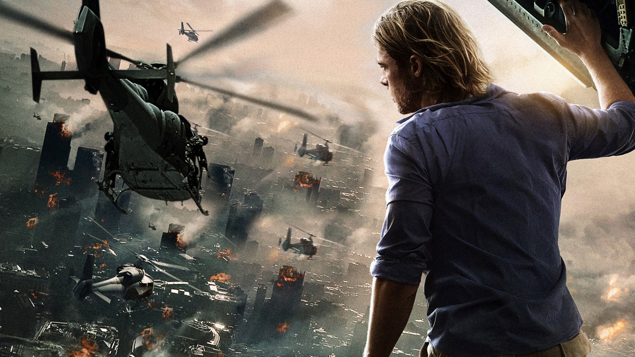 Brad Pitt, World War Z.