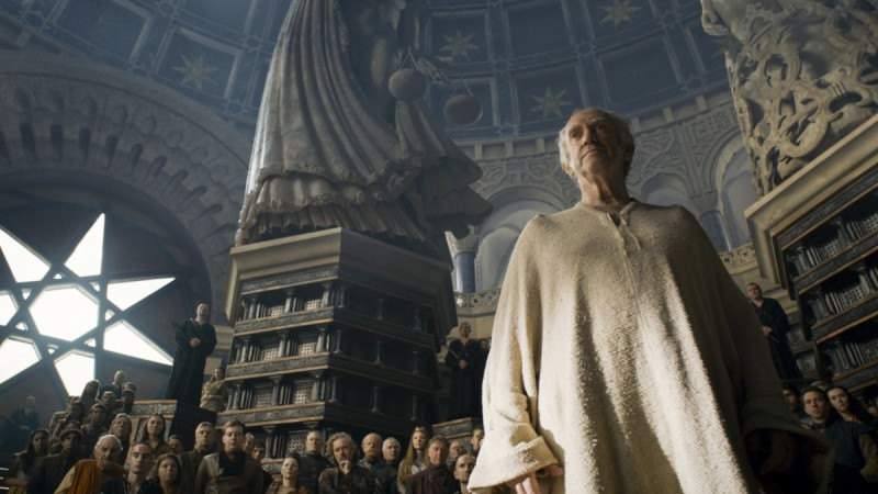 The High Sparrow, Game of Thrones, HBO.