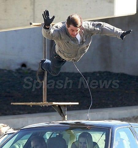 Tom Cruise, dejando sin chamba al doble