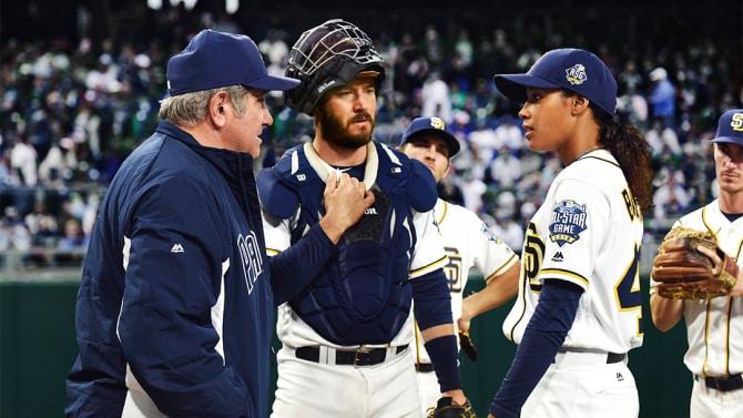 Pitch, FOX.  ©2016 Fox Broadcasting Co. Cr:  Ray Mickshaw / FOX