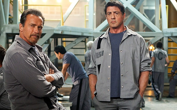 "Stallone y Schwarzenegger en ""Plan de Escape"". Summit Entertainment"