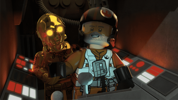 Lego Star Wars - Poe to The Rescue