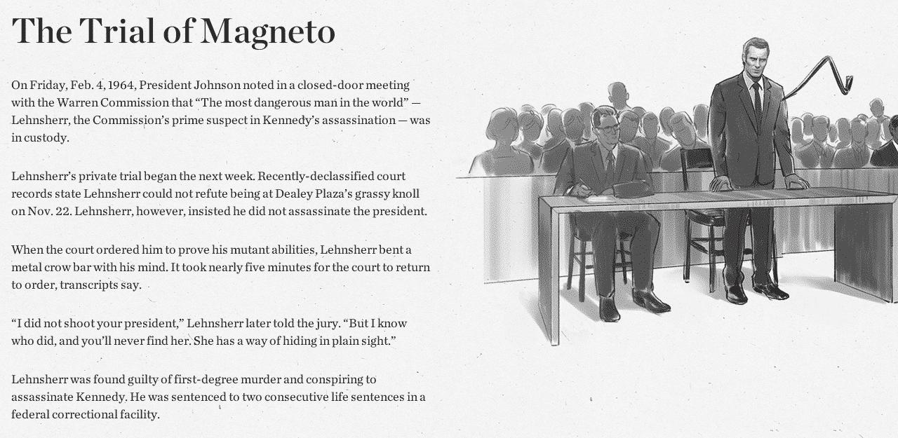 Magneto Judge