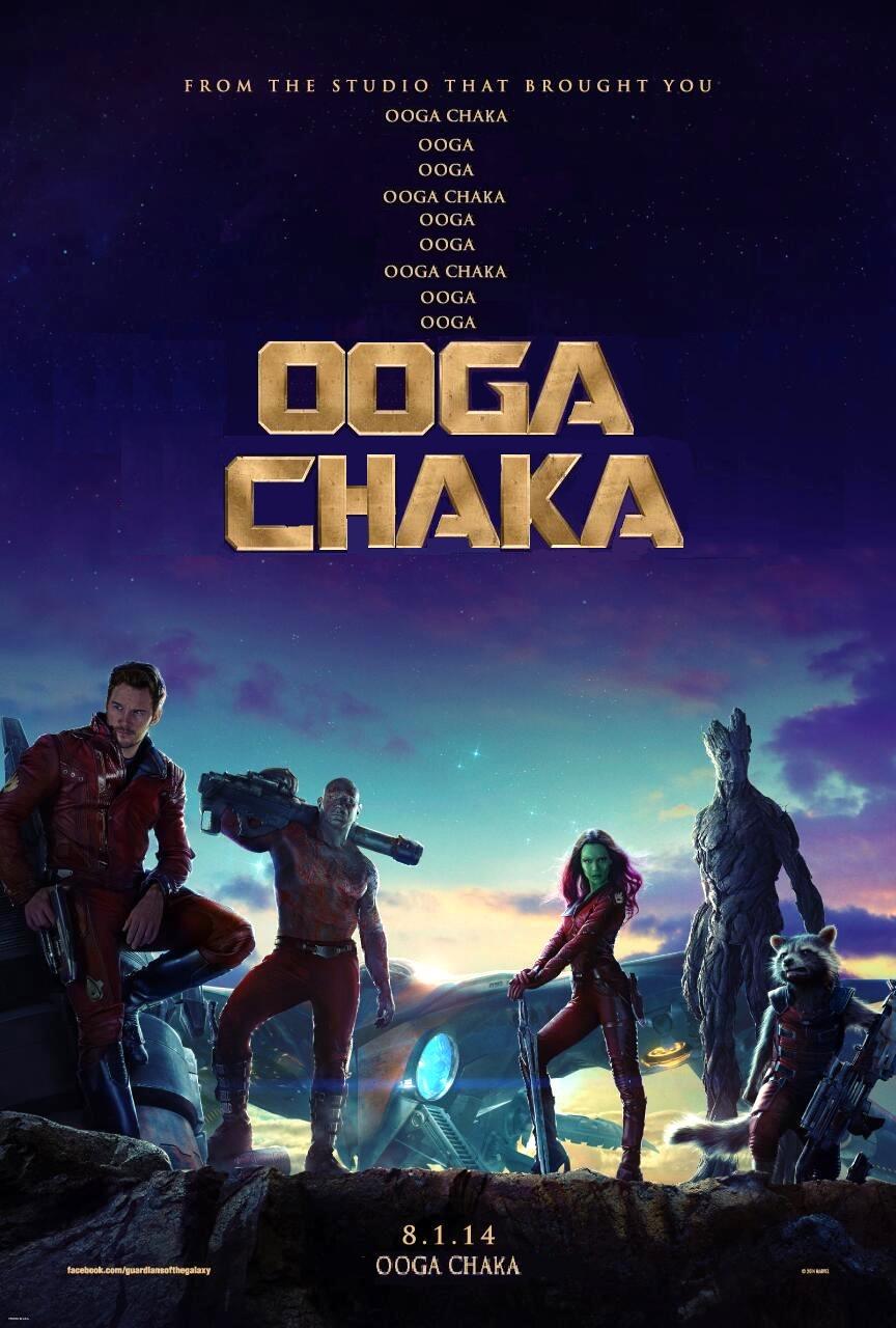 Guardians Of The Galaxy Ooga Chaka