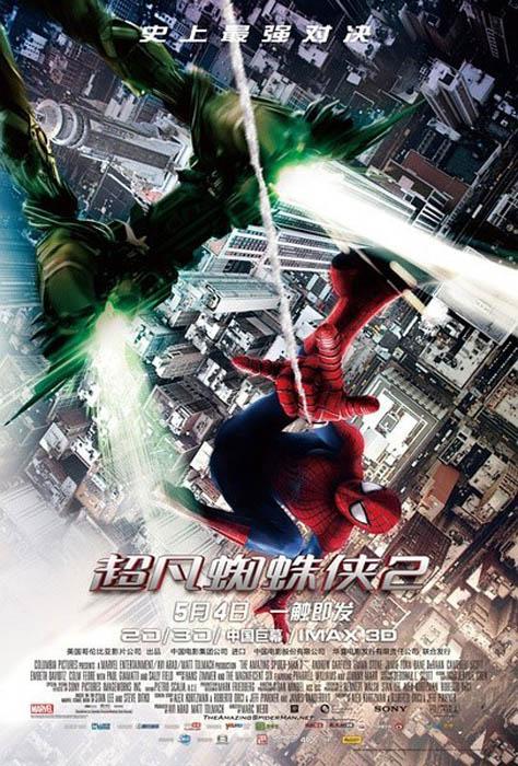 poster-the-amazing-spider-man-2-el-poder-de-electro-1