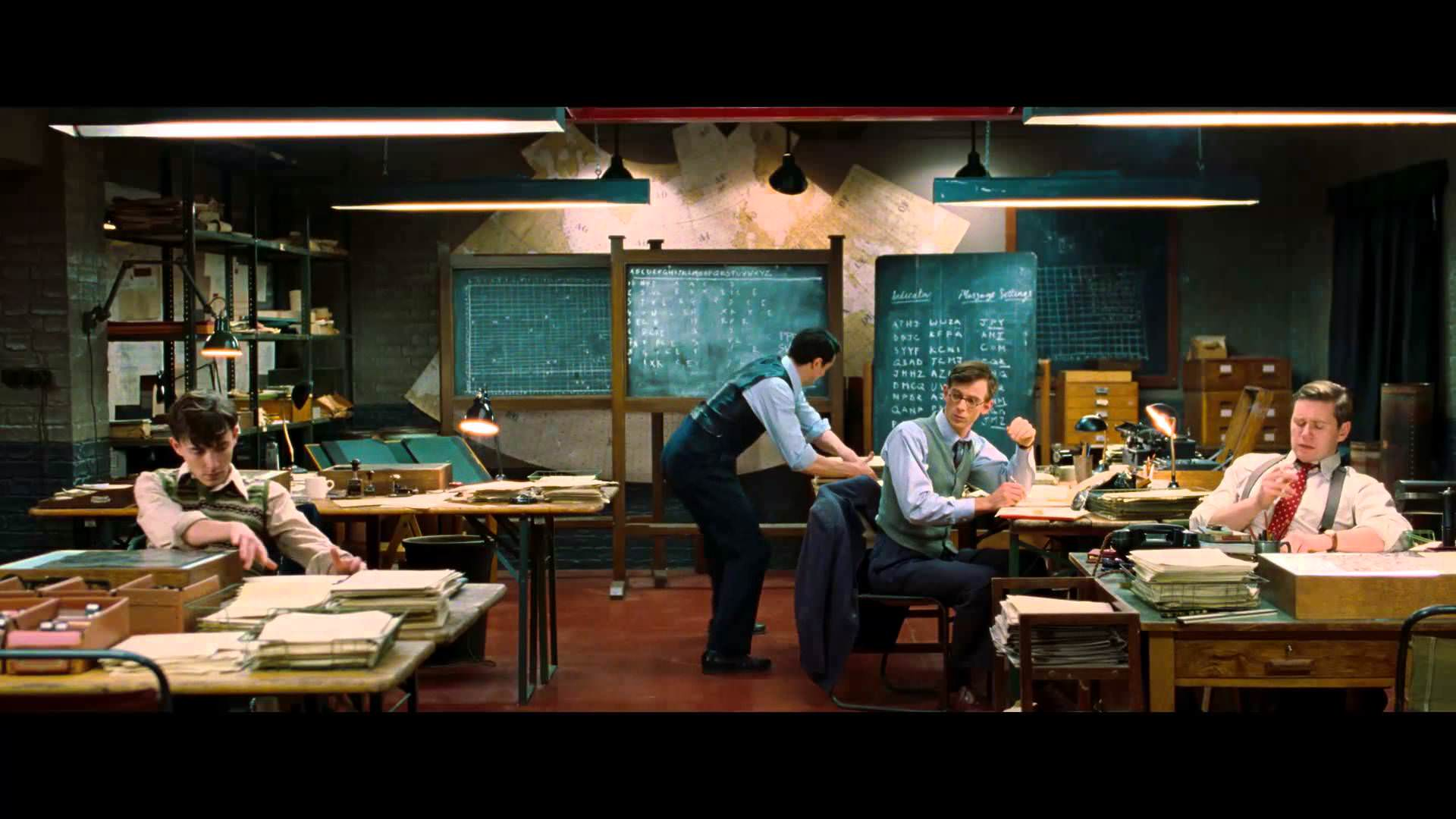 """Video thumbnail for youtube video Poster y trailer para """"The Imitation Game"""" - Cine3.com"""