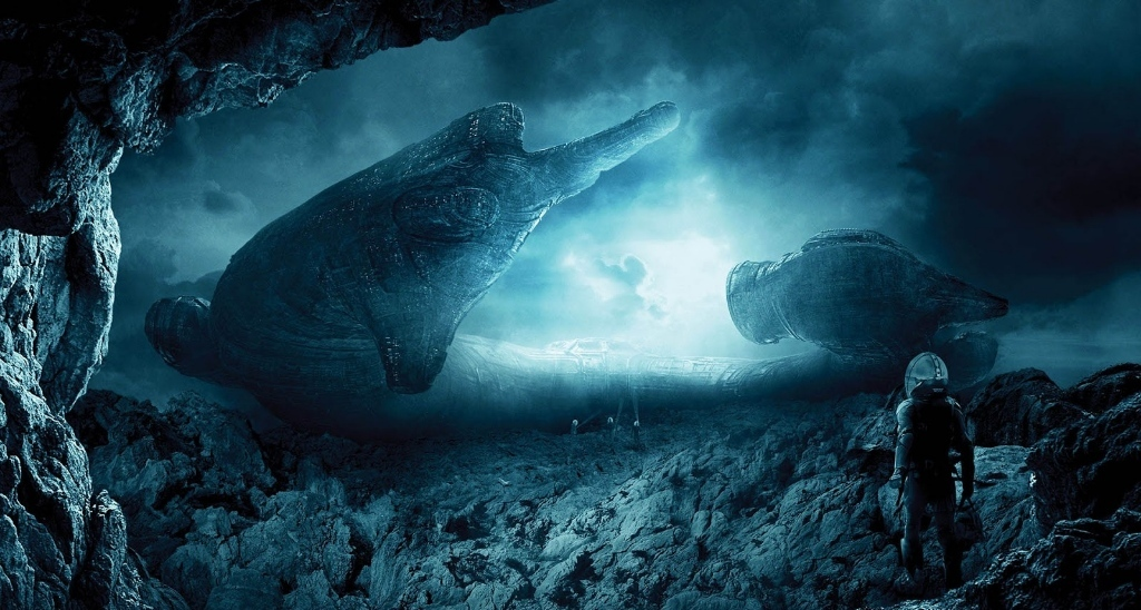 """Fotograma de """"Prometheus"""""""