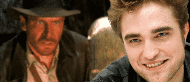 Robert Pattinson Indiana jones