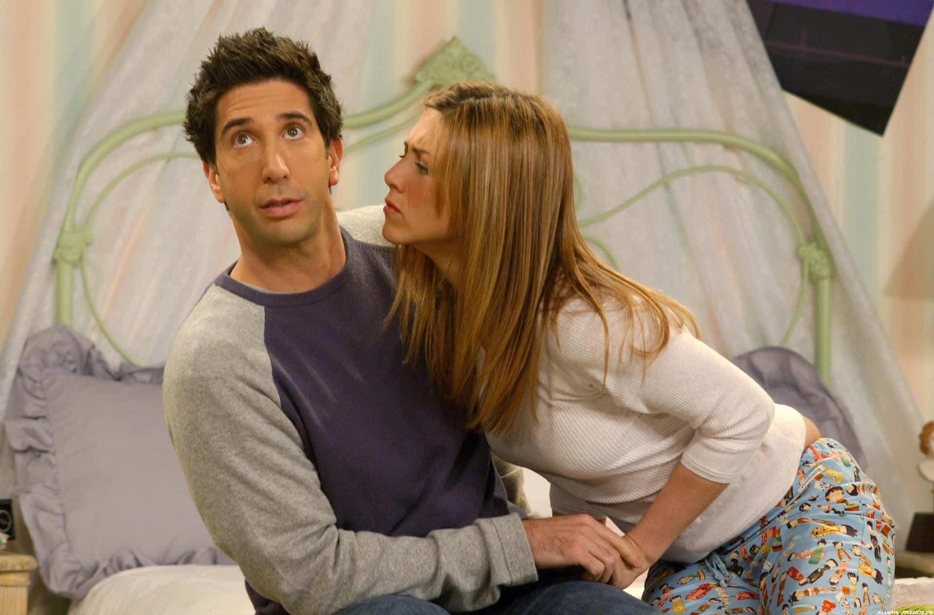 Jennifer Aniston ve a Rachel y a Ross juntos 10 años después
