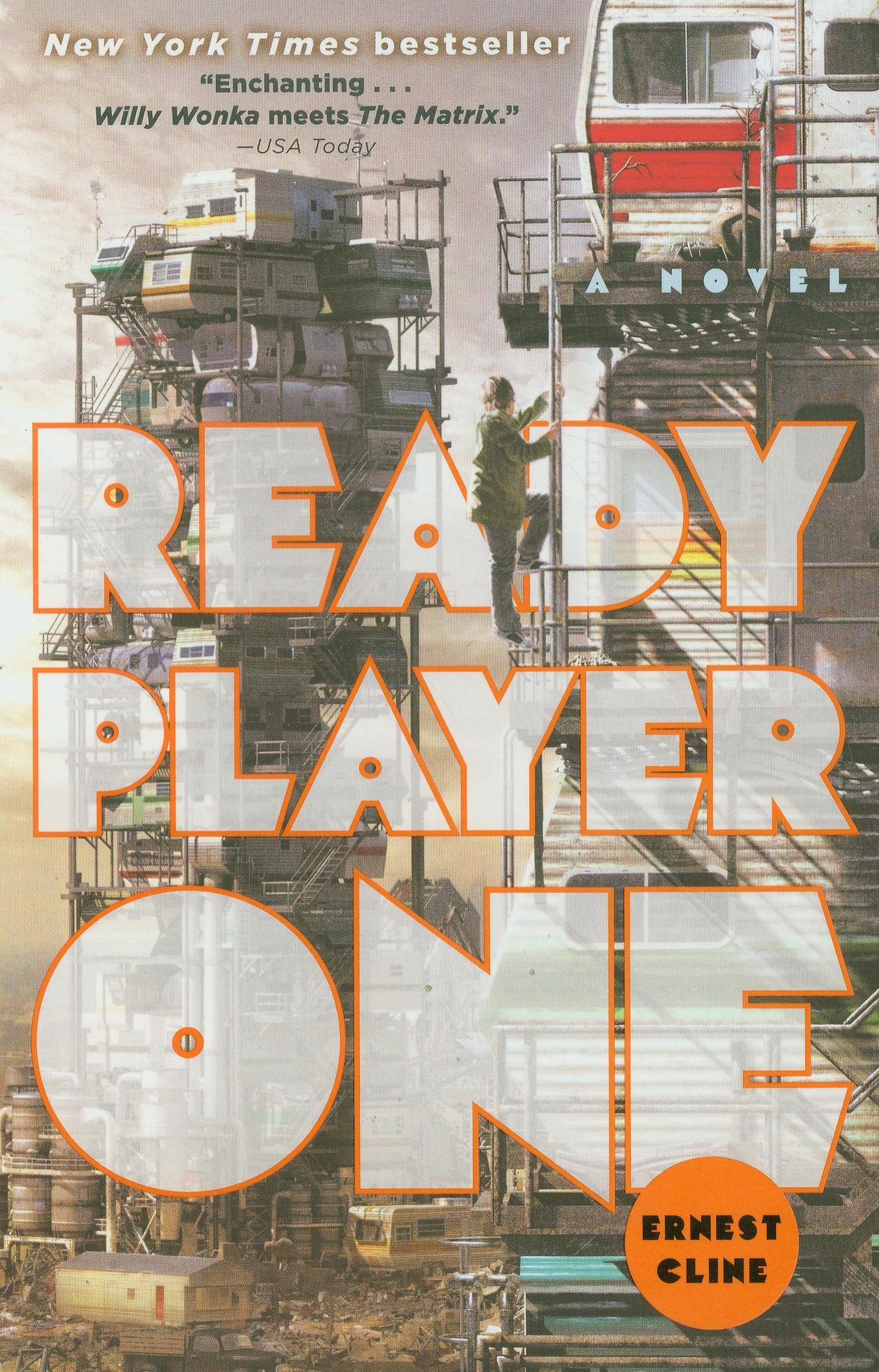 Portada de Ready Player One de Ernest Cline. Warner Bros. parece haber revelado al director de la esperada adaptación para el cine de la novela de culto Ready Player One. Ready Player One podría ser dirigida por Steven Spielberg y aun sin un elenco confirmado.