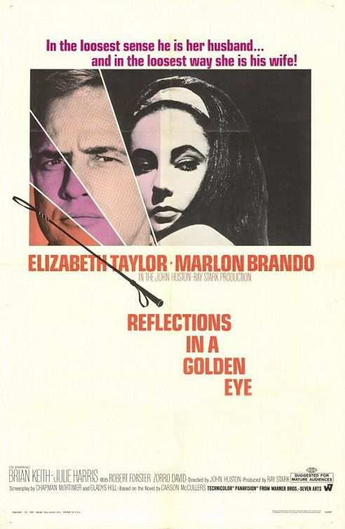 Reflejos en un ojo dorado