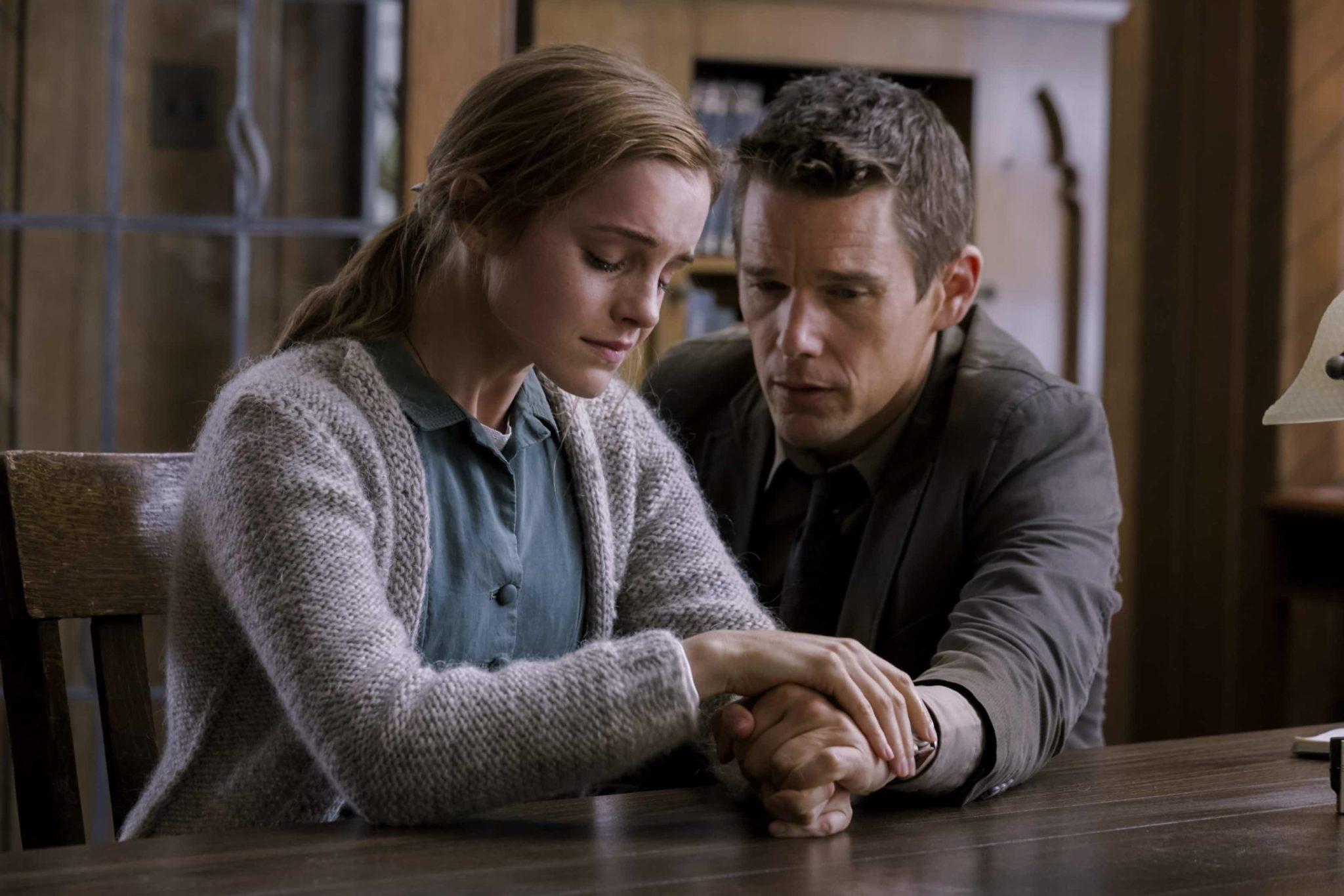 Emma Watson protagoniza junto a Ethan Hawke la cinta, 'Regresión'.