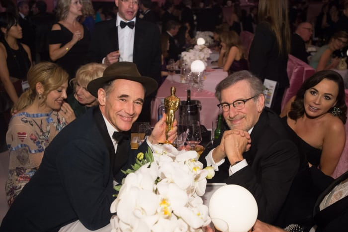 88th Annual Academy Awards, Governor's Ball, Inside, Los Angeles, America - 28 Feb 2016