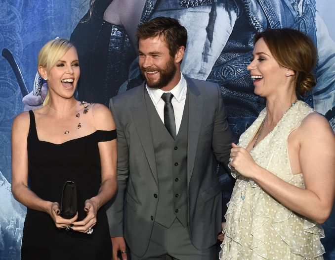 'The Huntsman: Winter's War' film premiere, Los Angeles, America - 11 Apr 2016