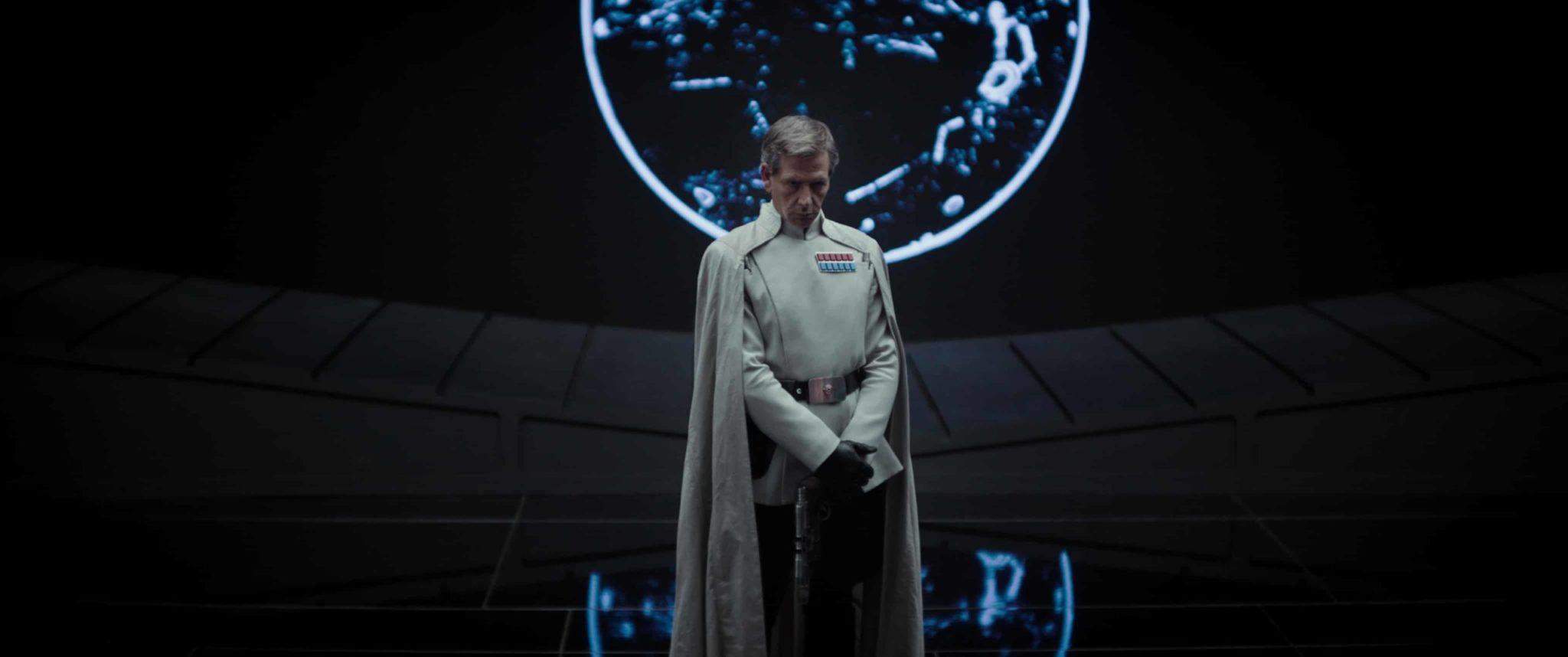 Rogue One: A Star Wars Story - Director Krennic (Ben Mendelsohn) Ph: Film Frame ©Lucasfilm LFL