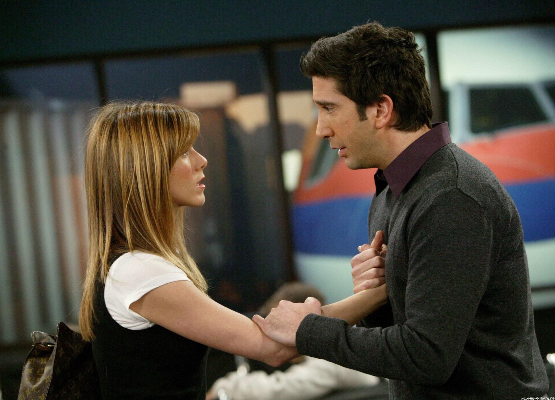 Ross & Rachel. La pareja con más expectativas dentro de la serie