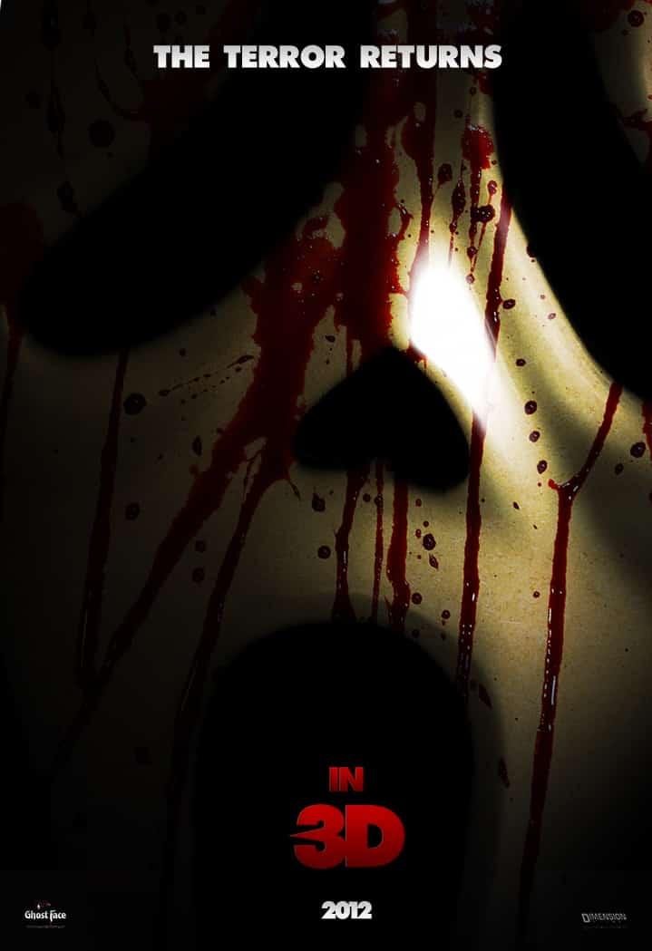 Scream 4 3D, Dimension Films