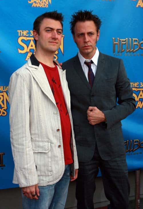 Sean Gunn y James Gunn