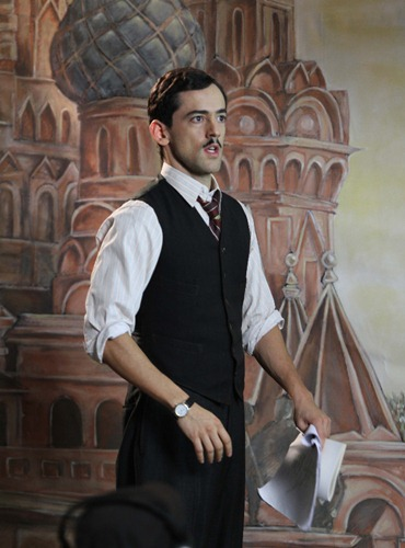 Luis Gerardo Méndes como Stanislao Schillinsky