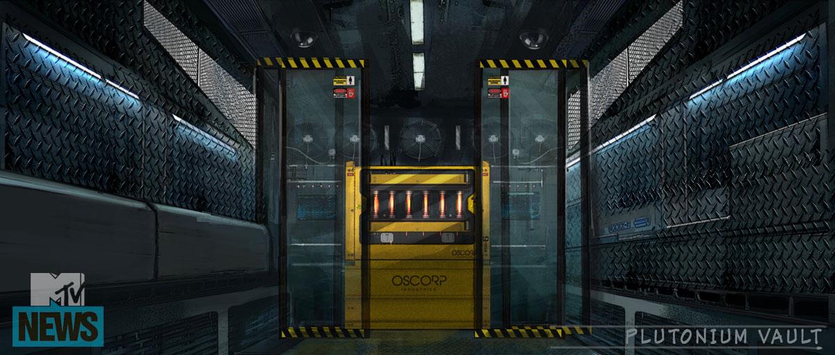 Concept art oscorp