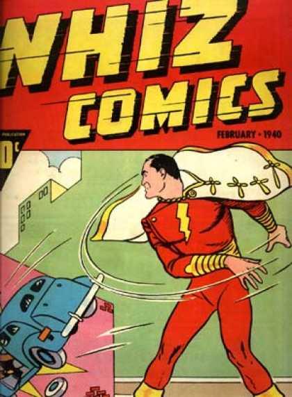 Primera aparición del Capitán Marvel