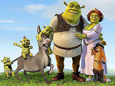 Elenco de la saga Shrek
