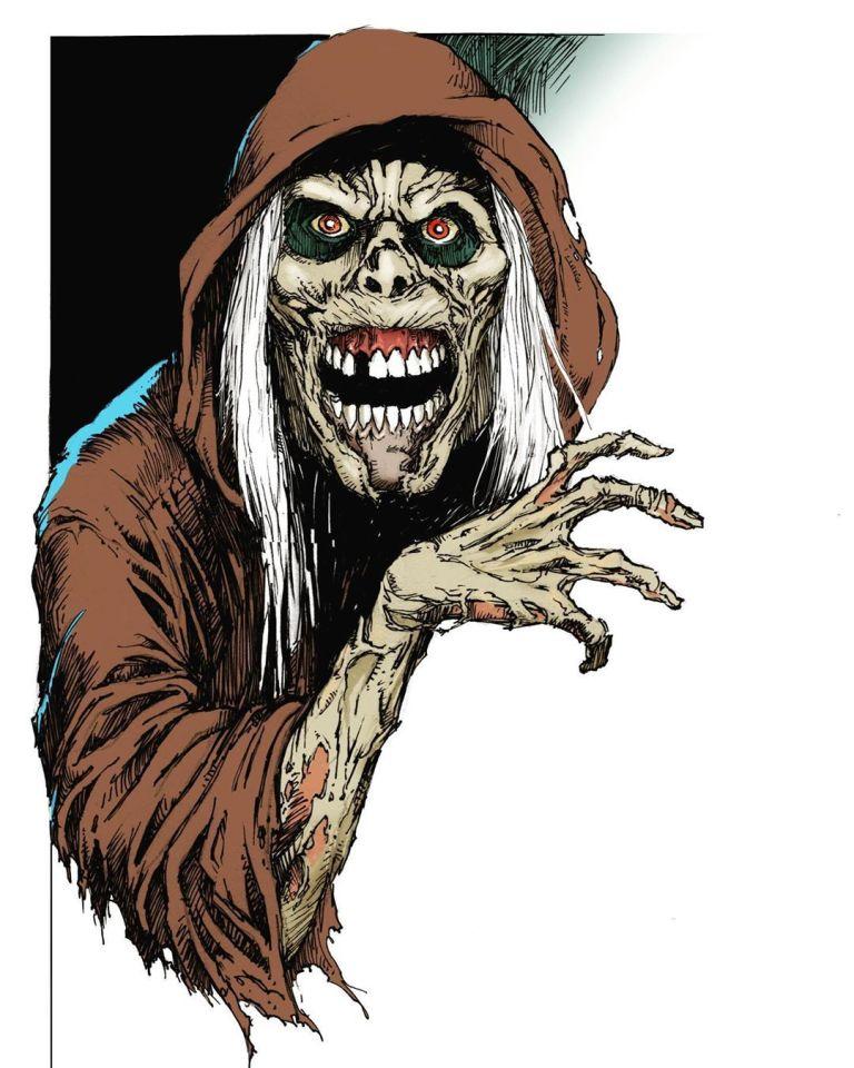 Greg Nicotero comparte arte de la serie Creepshow de Shudder Originals