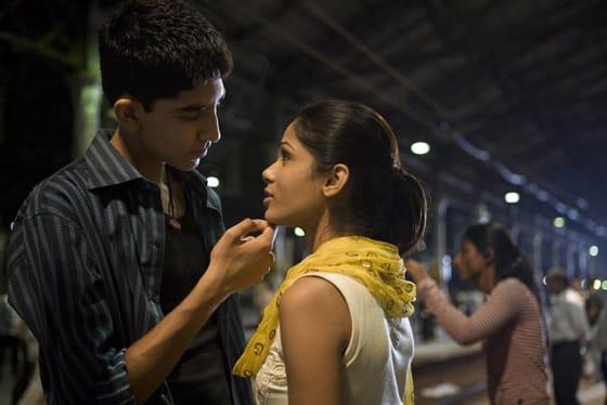 Escena de Slumdog Millionaire