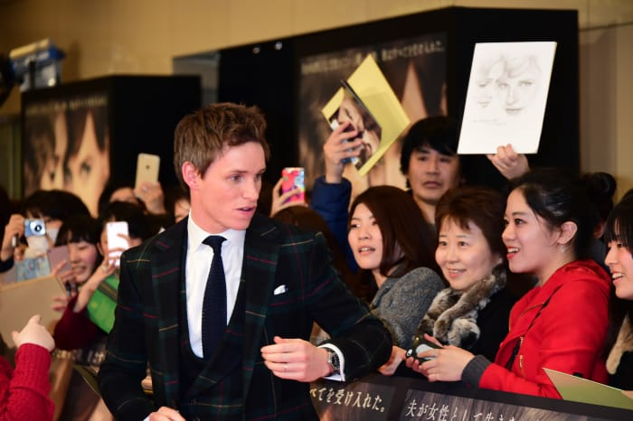 The Danish Girl - Tokyp Premier Event