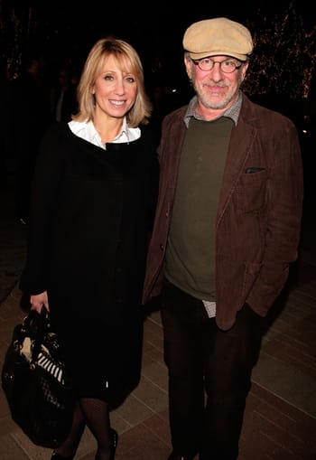 Stacey Snider y Steven Spielberg