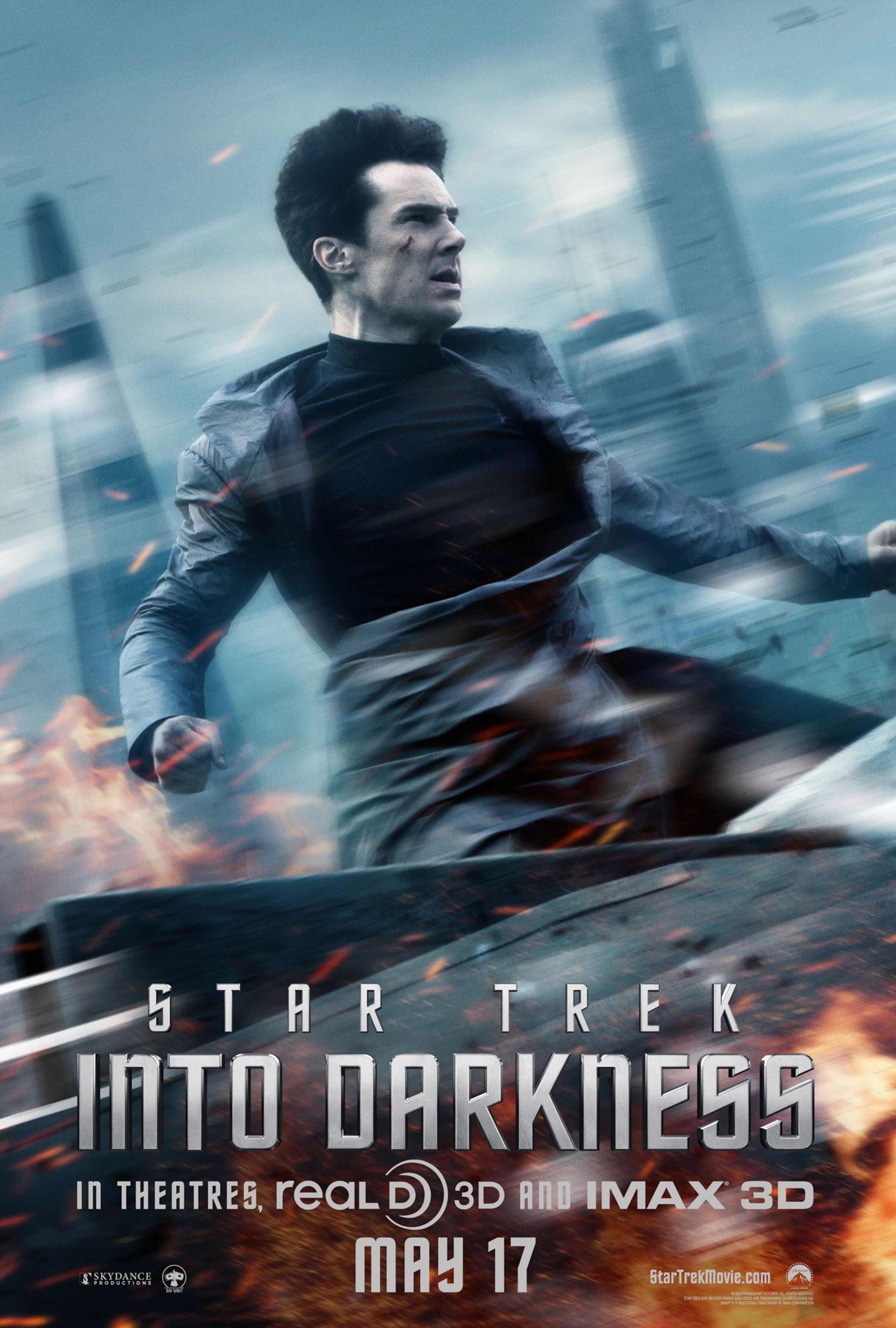 John Harrison (Benedict Cumberbatch) - Star Trek Into Darkness