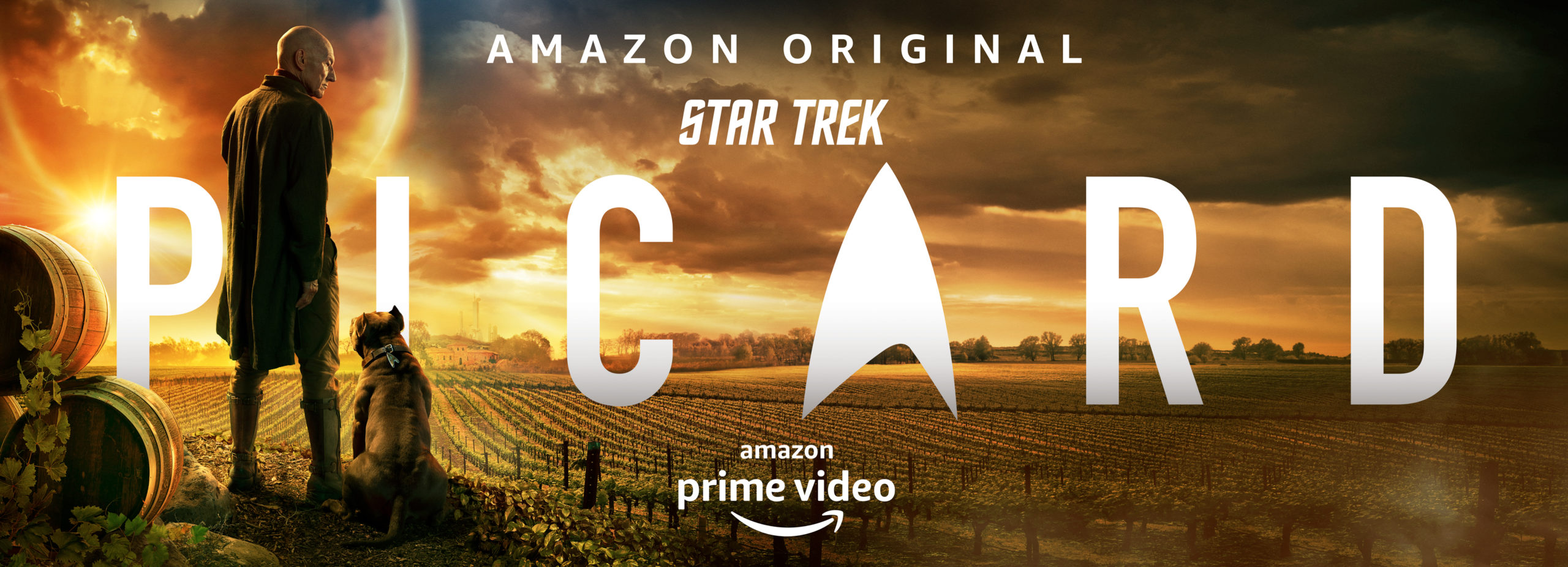 Sir Patrick Stewart en póster y teaser de Star Trek: Picard de Amazon Prime Video