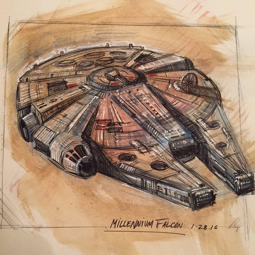 Millenium Falcon - Star Wars Show