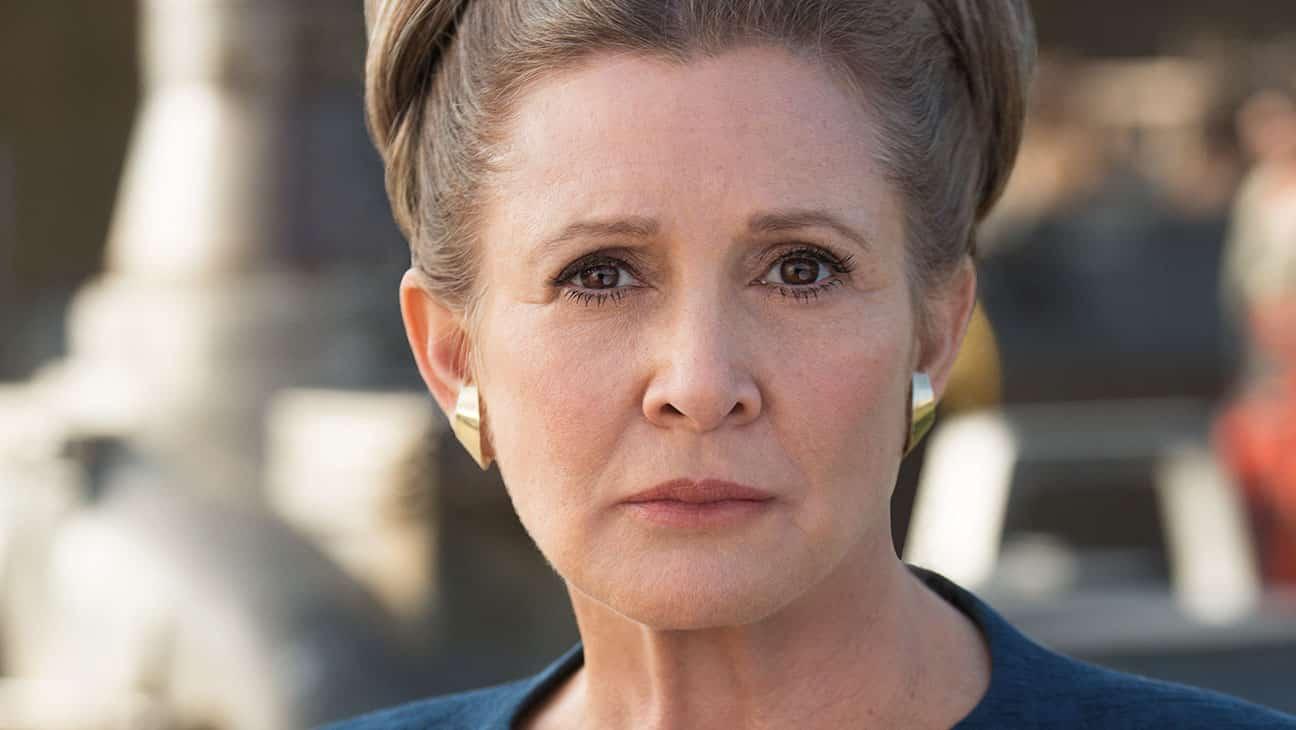 OFICIAL: Carrie Fisher estará en Star Wars: Episode IX y no será CGI