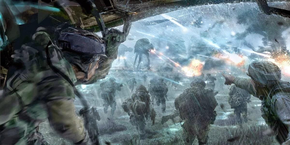 Rogue One: A Star Wars Story será una película de guerra