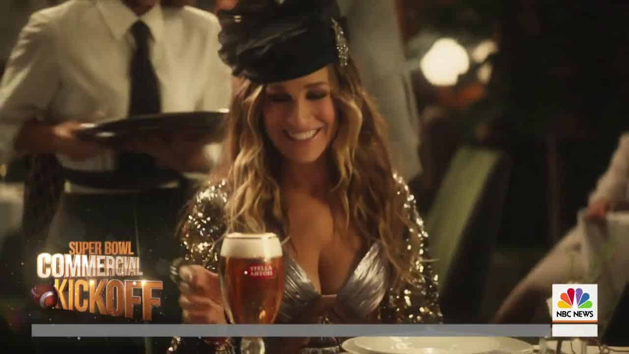 The Dude conoce a Carrie Bradshaw en comercial del Super Bowl LIII de Stella Artois