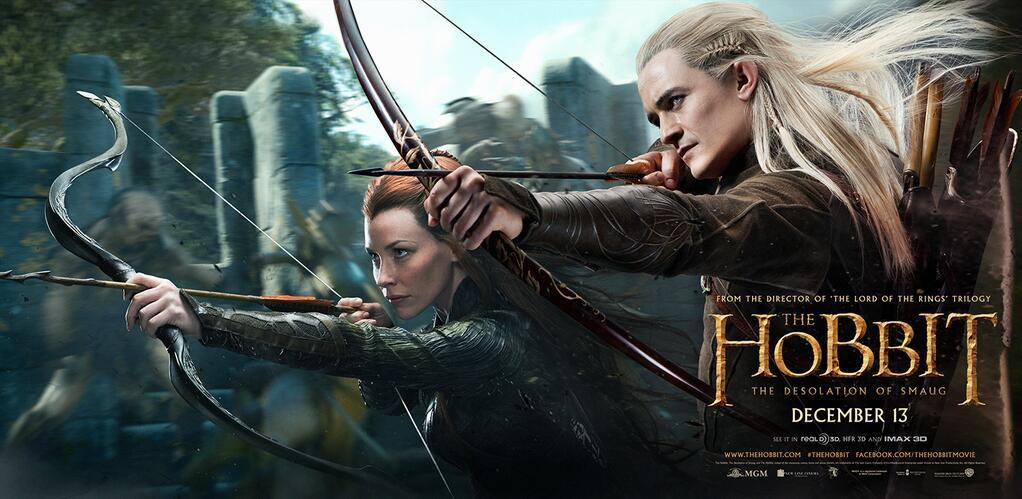 the hobbit legolas tauriel