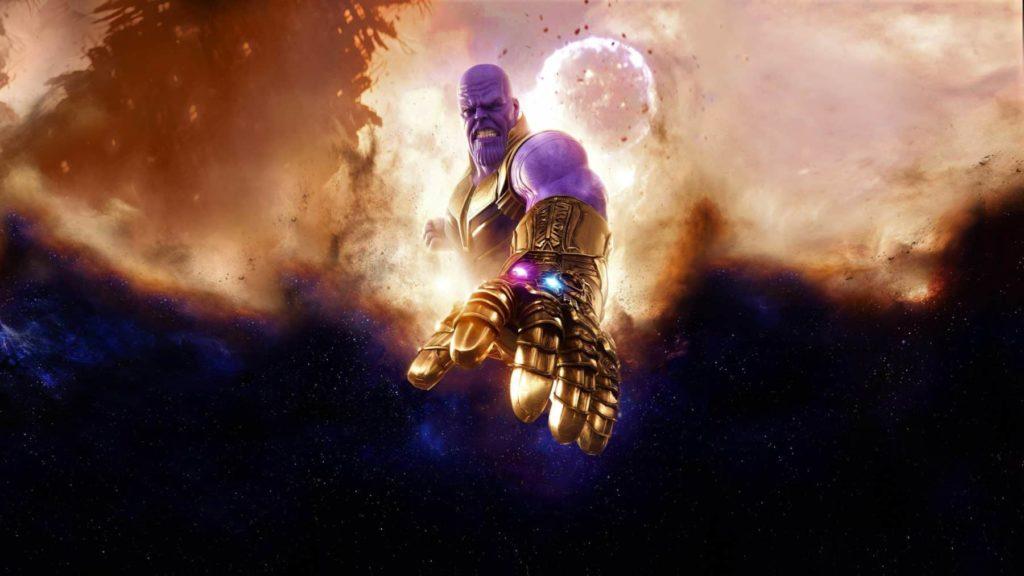 Thanos destruyó las Gemas del Infinito