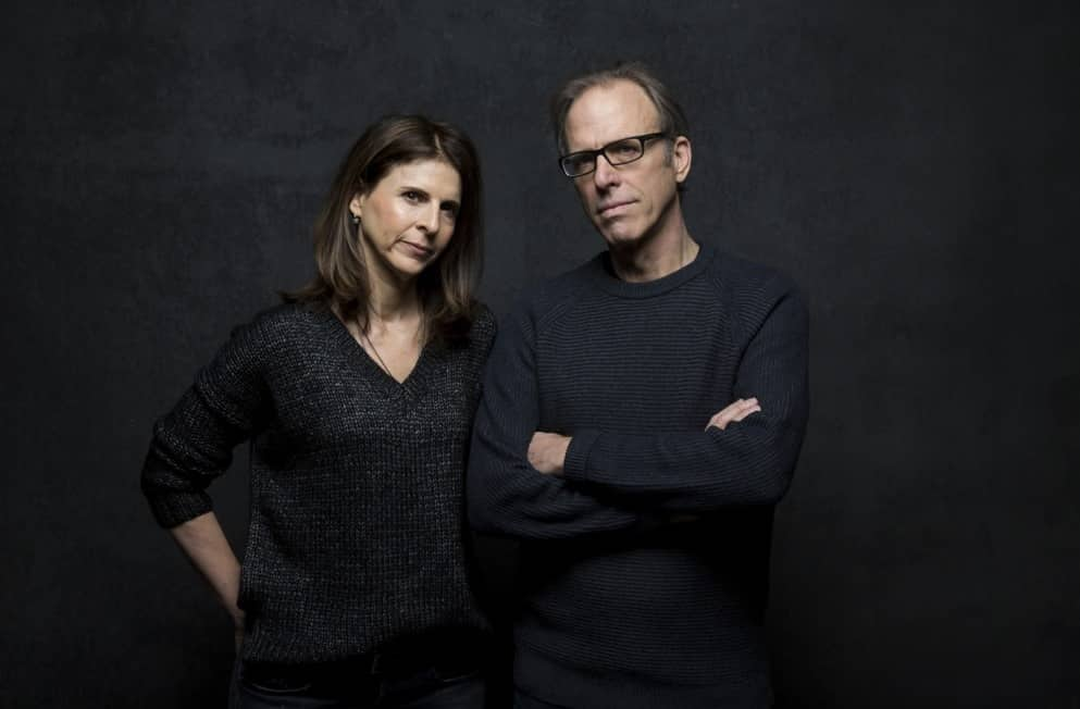 Amy Ziering y Kirby Dick, productora y director del documental 'The Hunting Ground'. © Courtesy of Sundance Institute