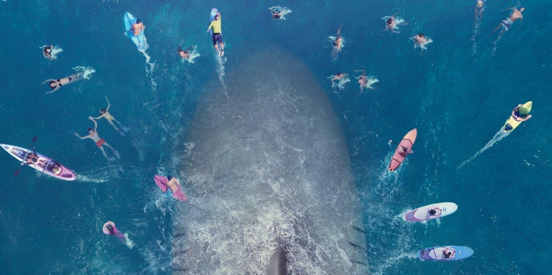 The MEG enfrenta a Jason Statham vs enorme tiburón prehistórico en primer tráiler