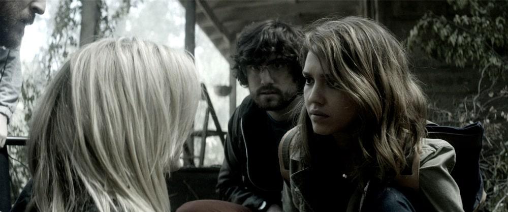 Jessica Alba en la cinta de terror, ''The Veil'.