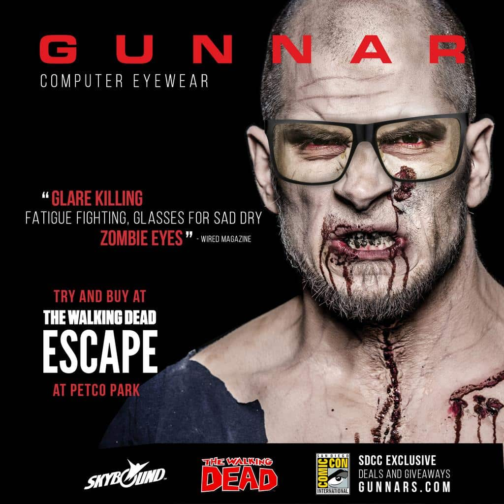 the walking dead gunnars